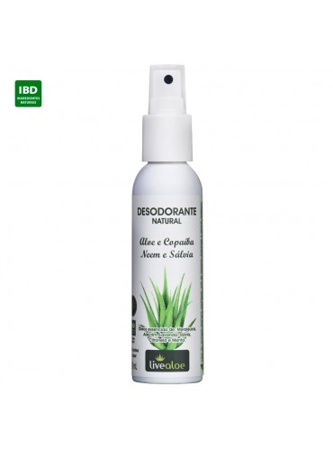 Desodorante Natural - Livealoe - 120mL