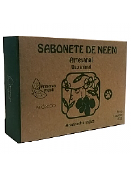 Sabonete de Neem Animal