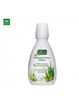Higienizante Bucal Natural - Livealoe - 250ml